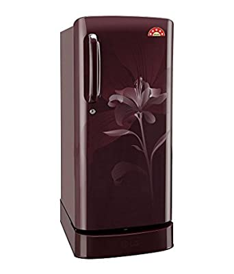 LG GL-D201ASLN Direct-cool Single-door Refrigerator (190 Ltrs, 5 Star Rating, Scarlet Lily)