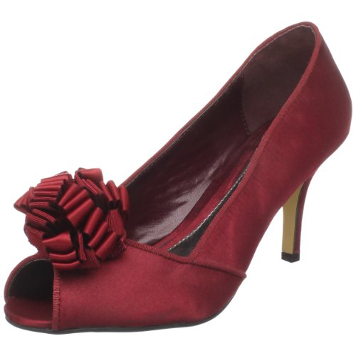 Paco Mena Women's Pharazon Peep-Toe Pump
