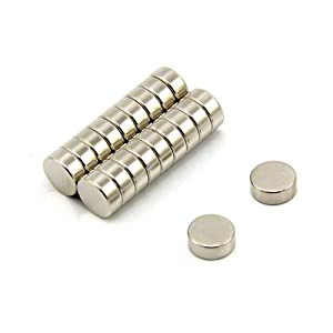 Magnet Expert Ltd N42 Neodym-Magnet, Zugkraft 20kg, 10x4mm, 20 Stück