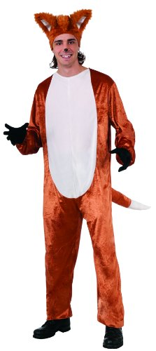 What Does The Fox Say Fox Costume Adult (Headpiece Not Included)
