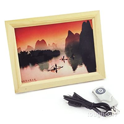 "Toughstyâ""¢ 4GB Photo Frame Camcorder Hidden Camera Covert Camera Mini DVR Video Recorder from Toughsty Tech Co Ltd"