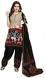 Komal Women's Cotton Salwar Suit Material (Multicolour)