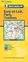 Eure-et-Loir/Paris/Yvelines (Michelin Local Maps)