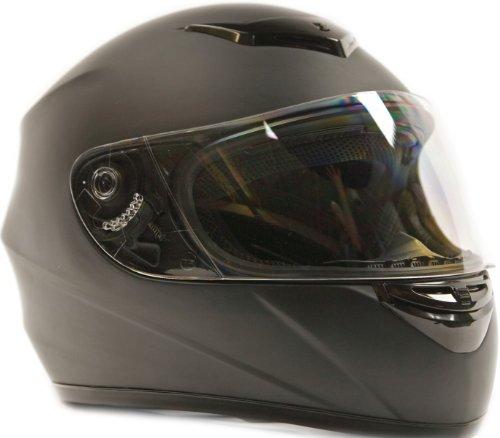 Adult Full Face Helmet Matte Black (XX- Large)