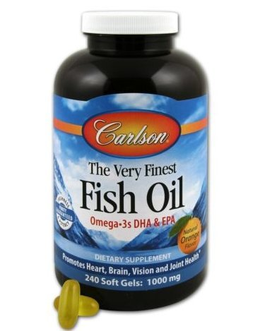 Carlson labs very finest fish oil lemon 1000mg 240 for Carlson fish oil review