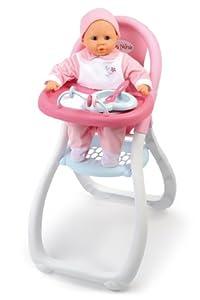 Smoby - 24019 - Accessoire pour Poupée - Baby Nurse - Chaise Haute