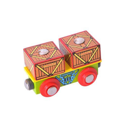 Bigjigs Rail BJT406 Crates Wagon - 1
