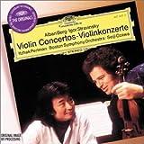 Berg, Stravinsky: Violin Concertos / Perlman, Ozawa