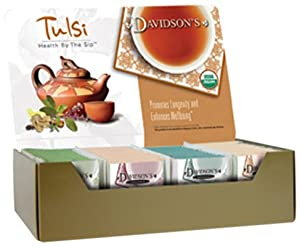 Davidsons Tea Single Serve Tulsi Spicy Green 100-count Tea Bags from Davidson's Tea
