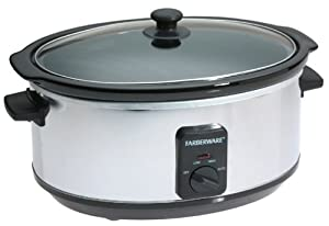 Amazon.com: Farberware FSC600 6-Quart Oval Slow Cooker ...