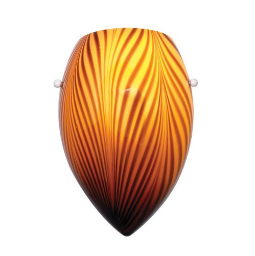 Wac Lighting G-Ws414-Am Wall Sconce With Glass Shade Tigra front-41343