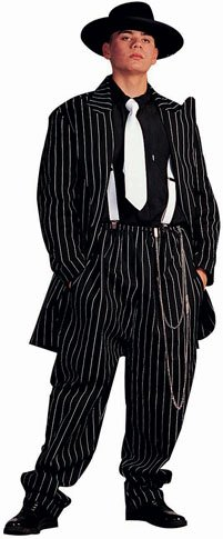 Adult Men's Classic Zoot Suit Halloween Costume