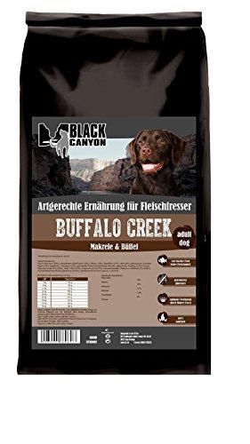 Bild: Buffalo Creek Makrele  Büffel 15 kg Hundefutter getreidefrei mit 55 Fleisch
