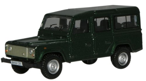 oxford-die-cast-76def001-green-land-rover-defender