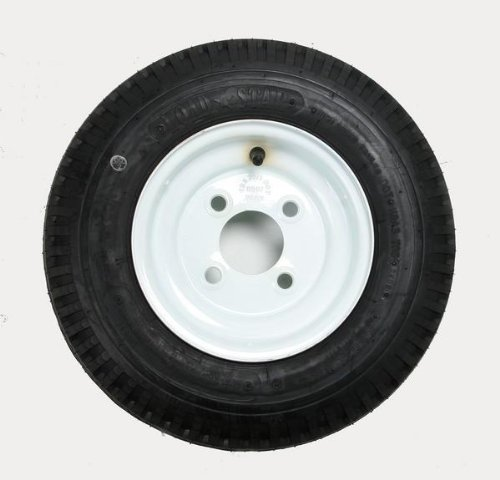 Kenda Trailer Tire/Wheel Assembly - 4-Ply Rated