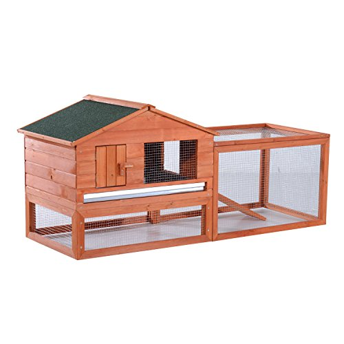 Pawhut-64-Outdoor-Guinea-Pig-Pet-HouseRabbit-Hutch-Habitat-with-Run