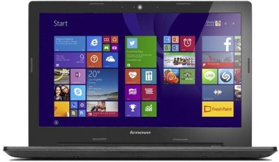Lenovo G50-80 80L000HRIN 15.6-inch Laptop (Core i3 4005U/4GB/1TB/DOS/Integrated Graphics), Black
