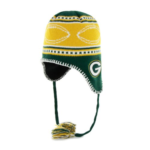 Nfl Green Bay Packers Kid'S Gameday Knit Cap, Dark Green front-909496