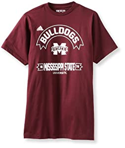 Buy NCAA Mississippi State Bulldogs Athletic Front S S Tee by adidas