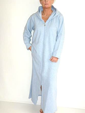 Dress womens clothing: Cotton jersey dressing gown