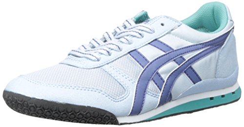 Onitsuka Tiger Women's Ultimate 81 Classic Running Shoe, Blue Bell/Blue Grass, 7.5 M US