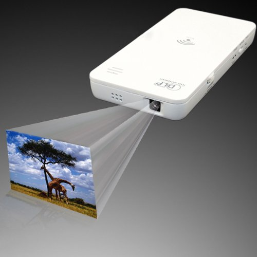 W500 Wifi Wireless Mini Projector + Power Bank