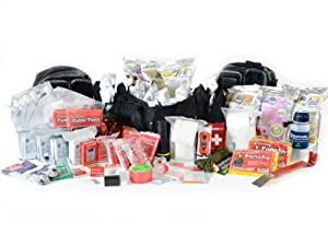 Hurricane Emergency Bug Out Bag - Premium Four Person Family 72 Hour Go Pack -... by Legacy Premium Food Storage