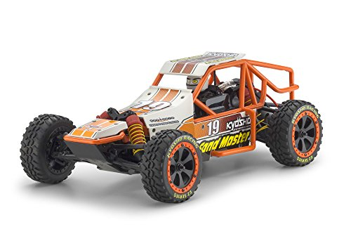 Kyosho Sand Master Ez Series 2Wd Buggy - Type 5 White (1/10 Scale)
