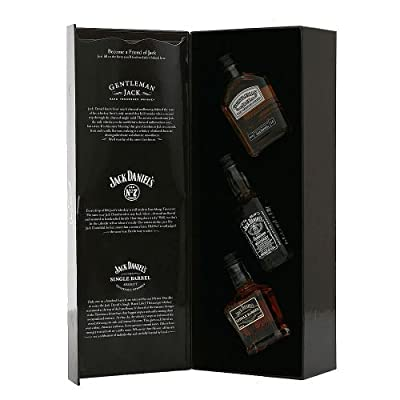 Jack Daniels Whiskey Family of Brands Miniature Pack 5 cl (Case of 3) by Jack Daniels
