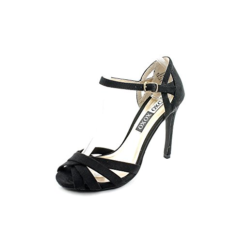 6. XOXO Winifred Faux Suede Dress Sandals Shoes