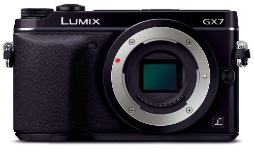 Panasonic デジタル一眼カメラ ルミックス GX7 ボディ ブラック DMC-GX7-K