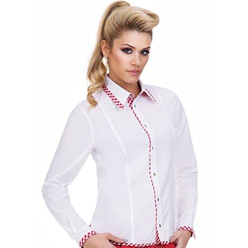 Almbock-Trachtenbluse-Fabiola-rot-karo-Highlights-in-Gre-34-36-38-40-42-44-Trachten-Bluse-zur-Damen-Lederhose-elegant-und-exklusiv