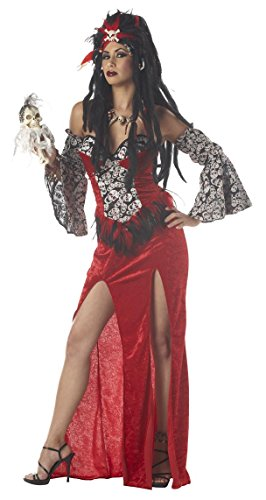 Voodoo Priestess Costume Adult Small