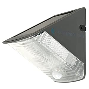 Ranex Olav Outdoor Led Solar Security Wall Light With Motion Detector by Ranex