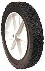 Maxpower 335100 10-Inch by 1-3/4-Inch Plastic Lawn Mower Wheel by Maxpower