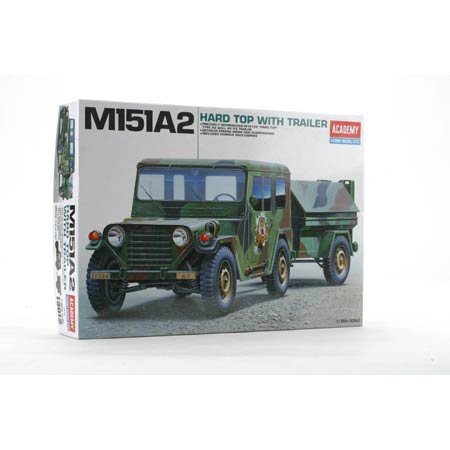 1/35 M151A2 Hard Top w/Trailer - Buy 1/35 M151A2 Hard Top w/Trailer - Purchase 1/35 M151A2 Hard Top w/Trailer (Academy Models, Toys & Games,Categories,Construction Blocks & Models,Construction & Models)