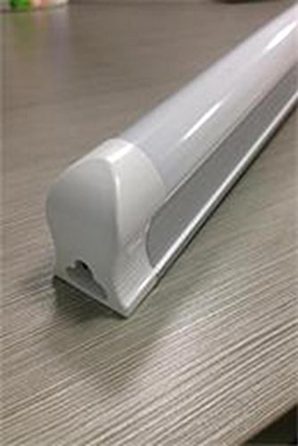 Mls 22W 4 Foot Integrated T8 Led Tube-75W Fluorescent Tube Replacement,Cool White-Pack Of 4