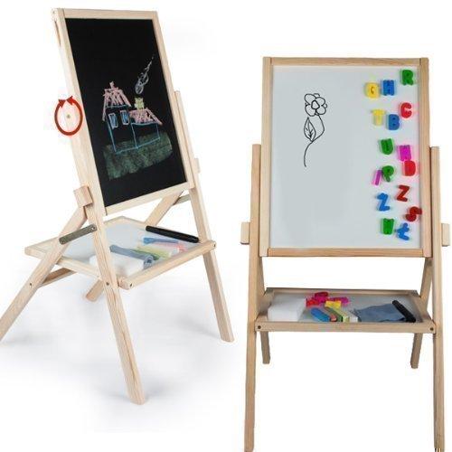 pizarra-tablero-magnetico-marco-de-madera-pizarra-con-accesorios-79x43cm