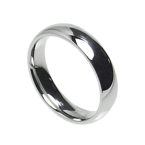 6mm Stainless Steel Comfort Fit Plain Wedding Band Ring Size 5-14 (9)