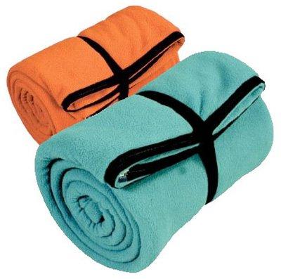 Coleman 2000008063 Stratus Sleeping Bag, Polyester Fleece, Orange/Teal, 33 x 75in