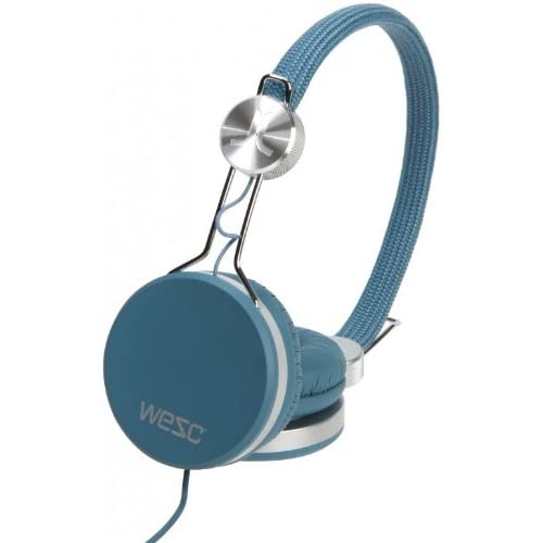 ヘッドホン おしゃれ Wesc Banjo Premium Headphones (MECHANICAL BLUE)をおすすめ