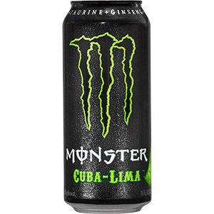 ... com: 8 Pack - Monster Energy Cuba Lima - 16oz.: Health & Personal Care
