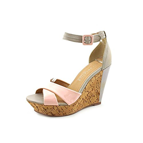 Very Volatile Women'S Pegasus Sandal,Blush,8 B Us front-611120
