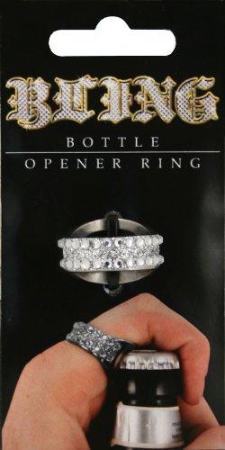 island dogs bling bottle opener ring import it all. Black Bedroom Furniture Sets. Home Design Ideas