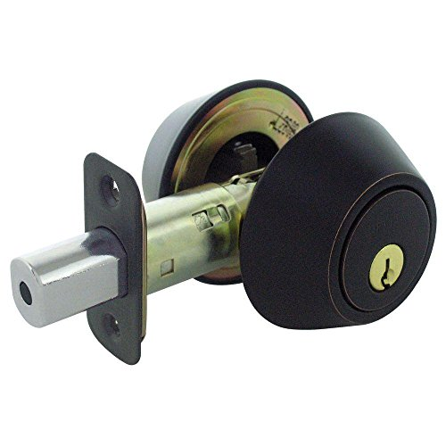 Defiant Double Cylinder Aged Bronze Deadbolt (Door Knob Defiant compare prices)