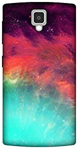 The Racoon Grip wonderful stars hard plastic printed back case for Lenovo A1000