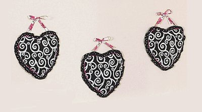 Pink and Black Madison Wall Hanging Accessories by JoJo Designs