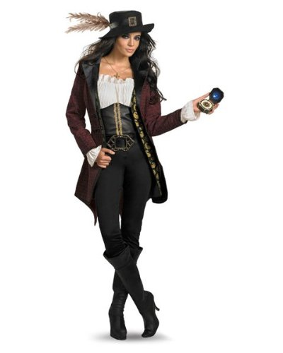 Womens Prestige Pirates of the Caribbean Angelica Costume Size Large
