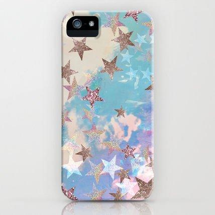 即納!!日本未発売Society6 iPhone 5 ケース 「Starry Eyed」