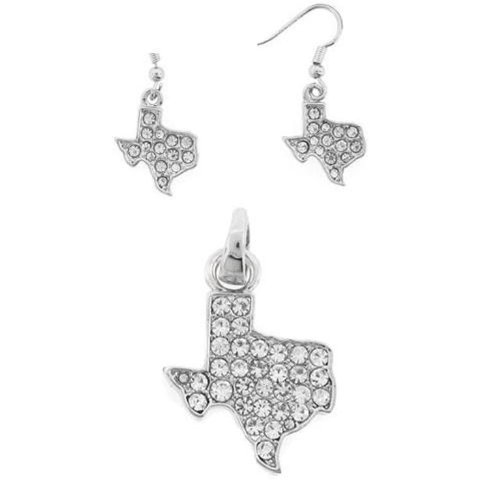 Pd 033e 34 Texas State Silver Plated Clear